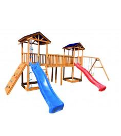 Игровой комплекс с мостом СГ6-Р912-Р923-Тент