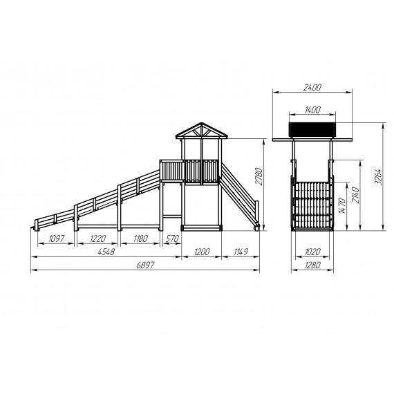Зимний игровой комплекс СГ-Р919-Р921