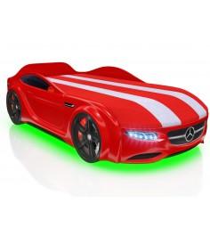 Junior AMG красный с колесами