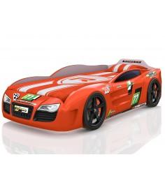 3D Renner 2 с подсветкой фар дна и колесами оранжевый