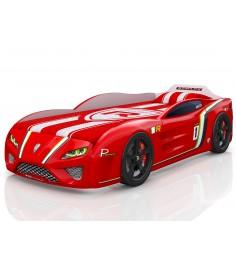3D SportLine красный с колесами