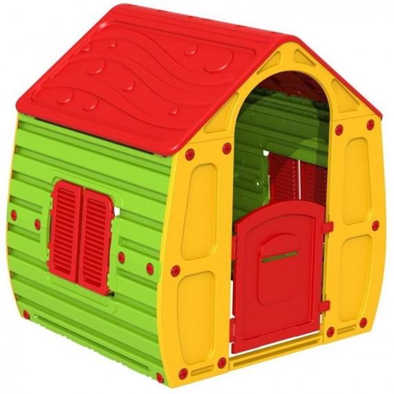 Магический домик желтый зеленый 10-561