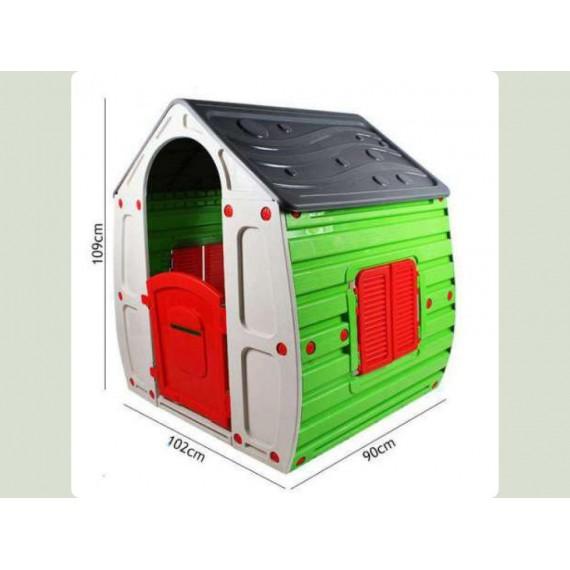 Магический домик серый зеленый 10-561