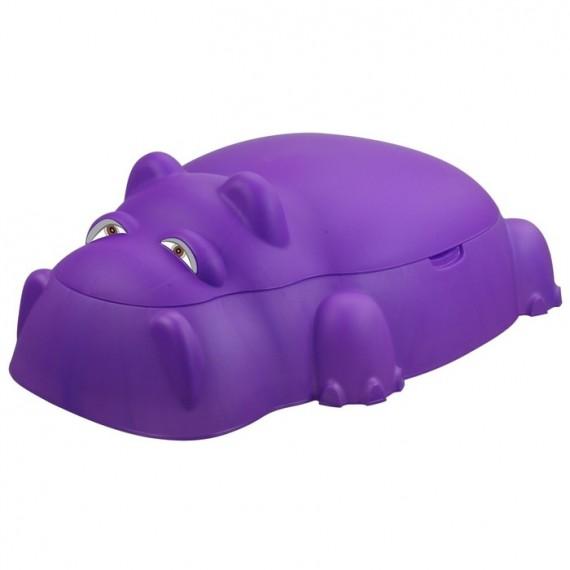 Песочница бегемот 18-518 фиолетовый