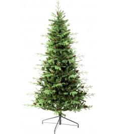 Ель искусственная Царь елка Европейская с шишками 180 см ЕВШ-180