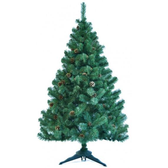 Ель искуственная Царь елка Холидей с шишками 180 см