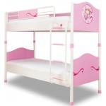 Двухъярусная кровать Cilek Princess 200 на 90 см