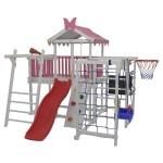 Детский домашний игровой комплекс чердак ДК1Р Розовый
